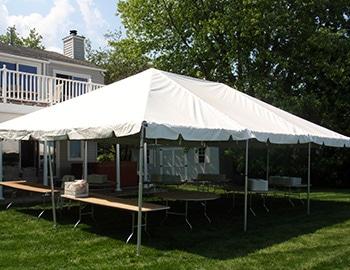 15u2032 x 30u2032 Frame Tent & Wedding Tent Renatls | ABC Fabulous Events Party Rentals