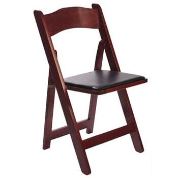 Mahogany Wood Folding Chair  sc 1 st  ABC Fabulous Events & Mahogany Wood Folding Chair | ABC Fabulous Events Party Rentals