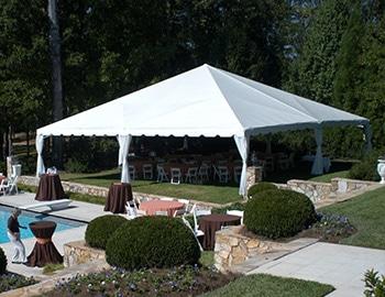 40′ x 40′ Frame Tent