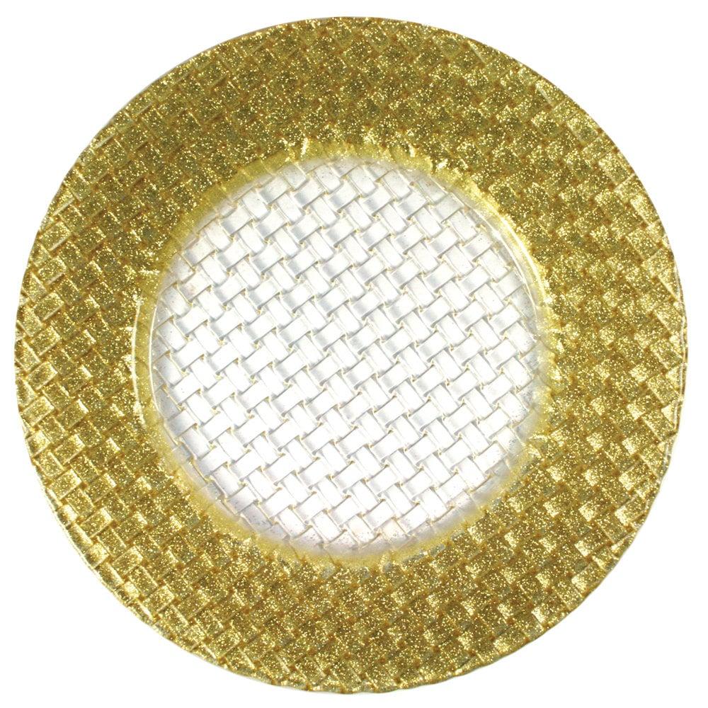 Braid 13in Chgr Gold-Clear Cen