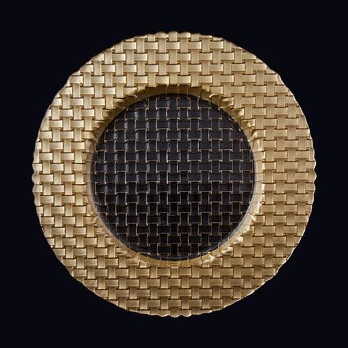 Braid 13in Chgr Gold-Clear
