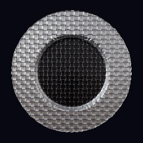 Braid 13in Chgr Silver-Clear