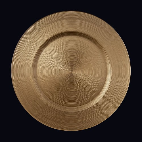 Circle 13in Chgr Gold LTD