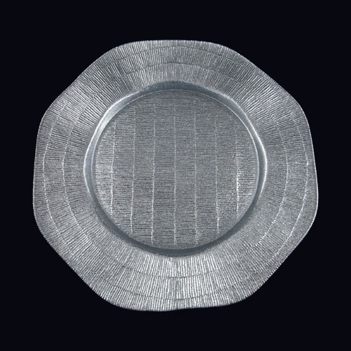 Octagon 13in Chgr Silver LTD