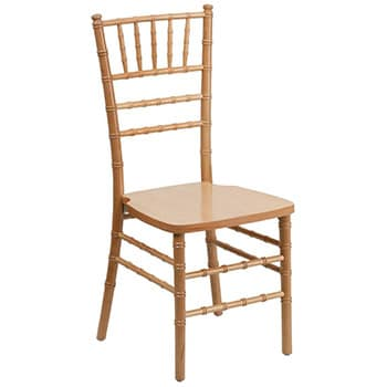 Natural Chiavari Ballroom Chair