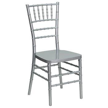 Silver Chiavari Ballroom Chair