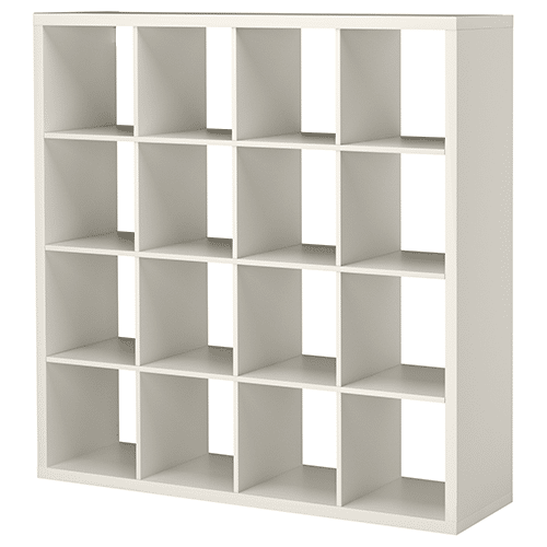 5′ Square Cubby- WHITE