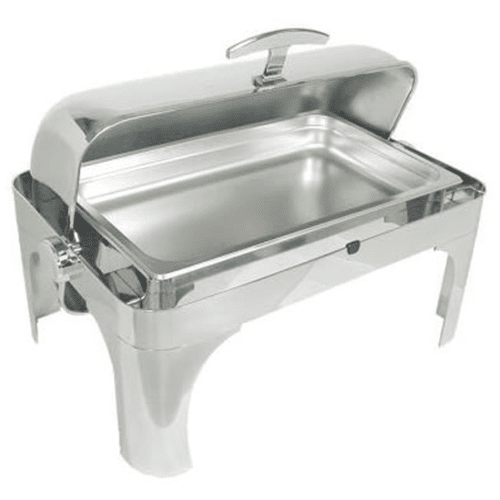 8 Qt Rectangle Rolltop Chafer