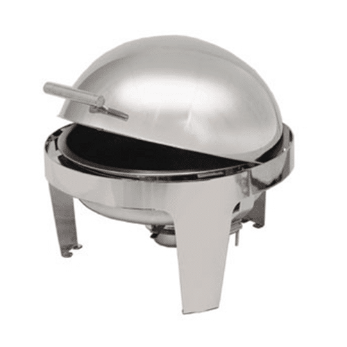 8 Qt Round Rolltop Chafer