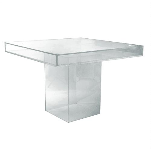 Aqua Fillable Table