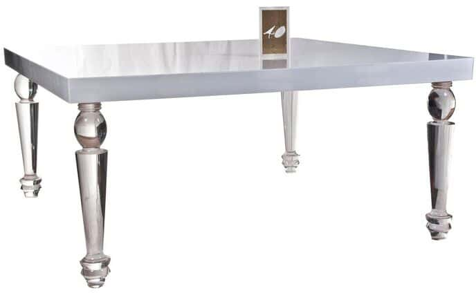 Bel Air Dining Table (Lucite)