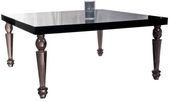 Bel Air Dining Table (Smoke)