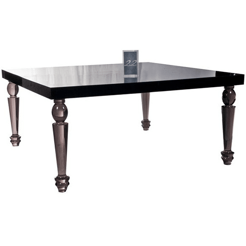 Bel Air Dining Table (Smoke)