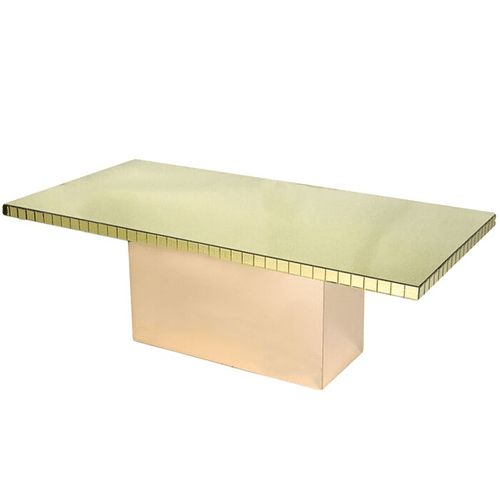 Chloe Dining Table (Gold)