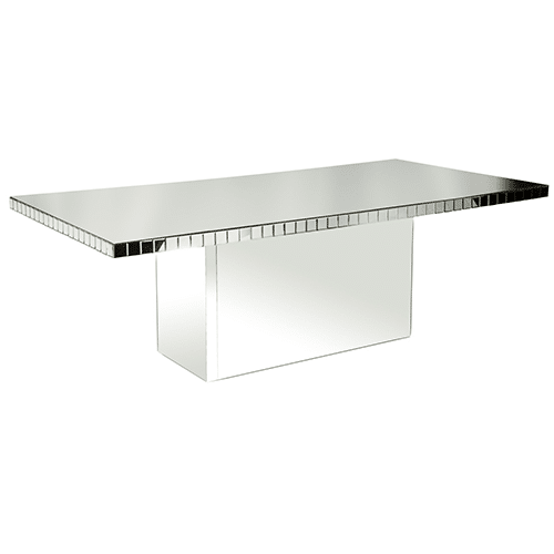Chloe Dining Table (Silver)