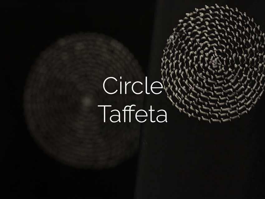 Circle Taffeta
