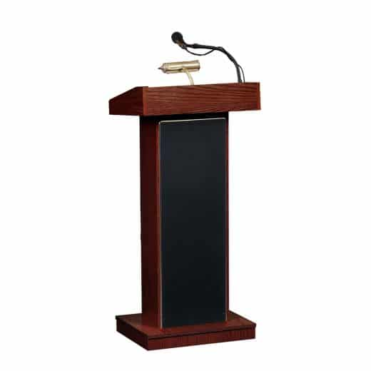 Electric Podium with Microphone