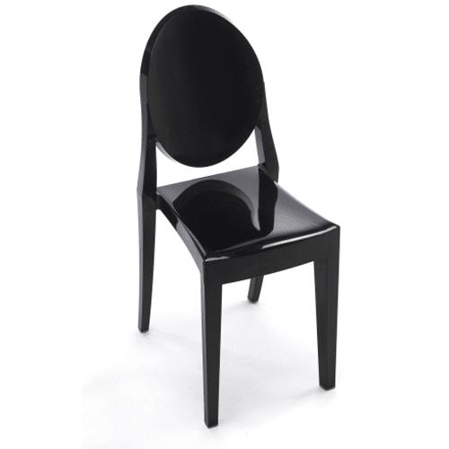Ghost Chair (Black)