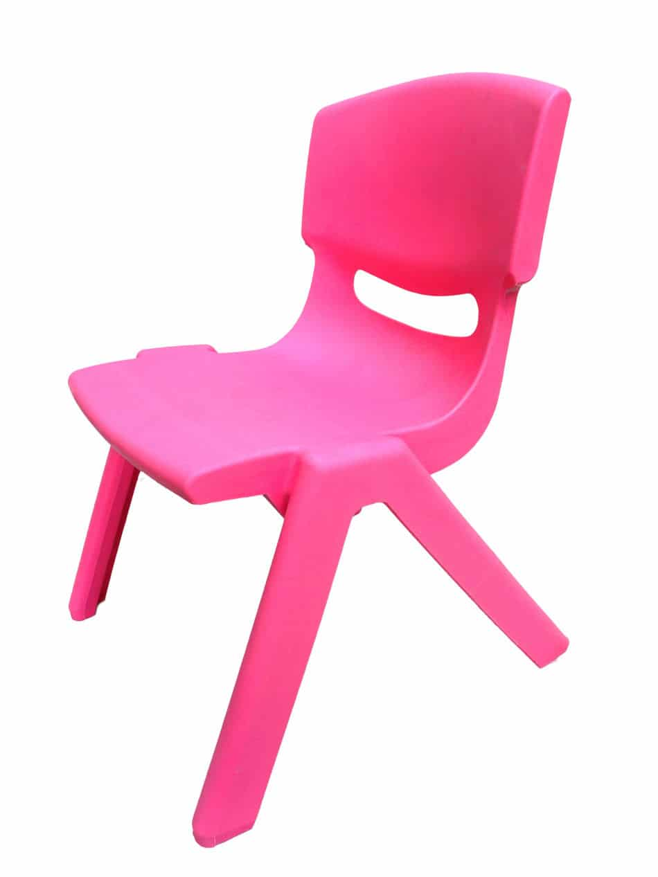 Kid's Pink Chair