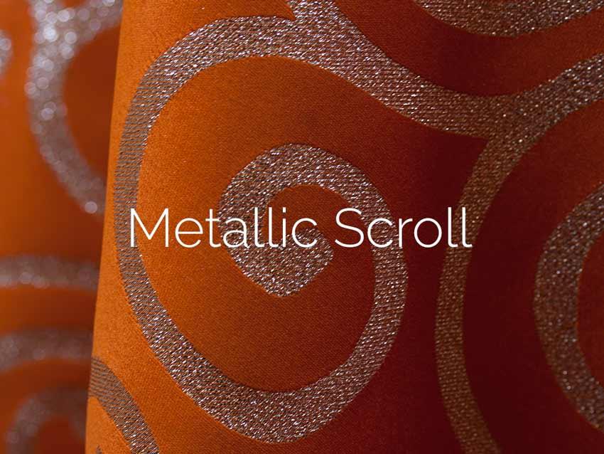 Metallic Scroll