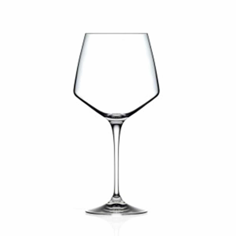 25.25oz Aria Crystal Burgundy Wine
