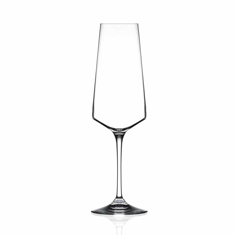 12oz Aria Crystal Champagne Flute