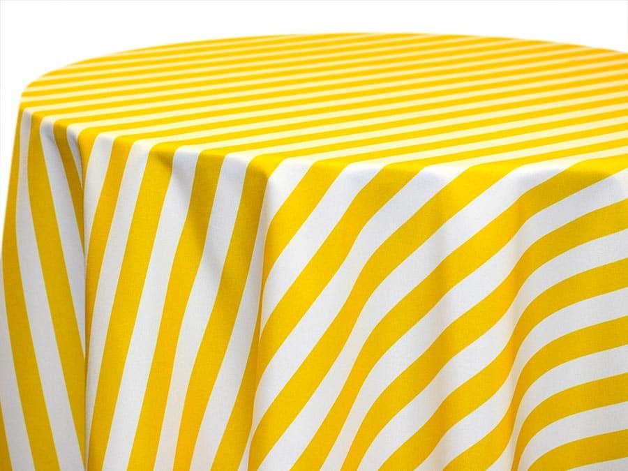 Awning Stripe – Lemon