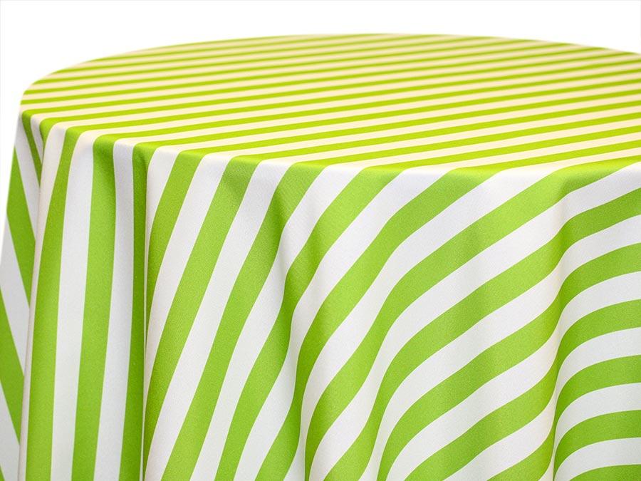 Awning Stripe – Lime