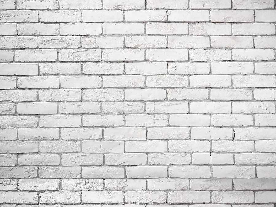 Backdrop – White Brick