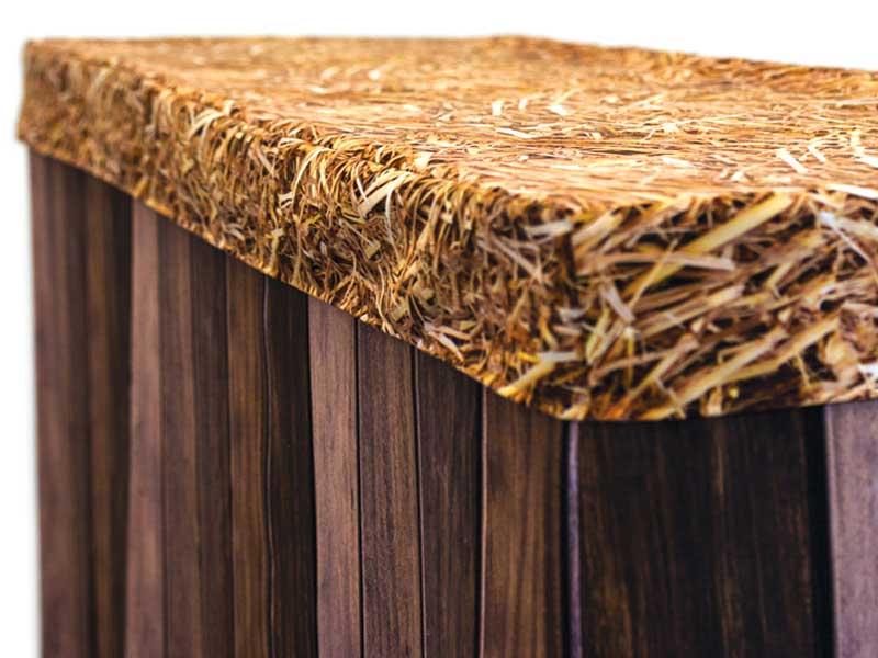 Bar Cover – Dark Wood – Hay Cap
