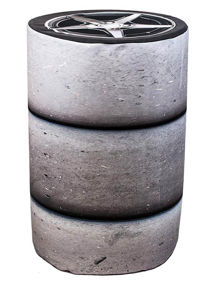 Barrel Cover – Tire Stack