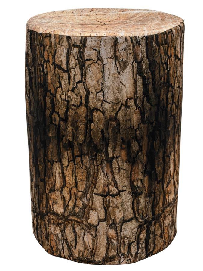 Barrel Cover – Tree Stump