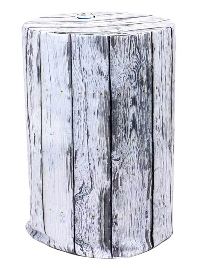 Barrel Cover – White Wood