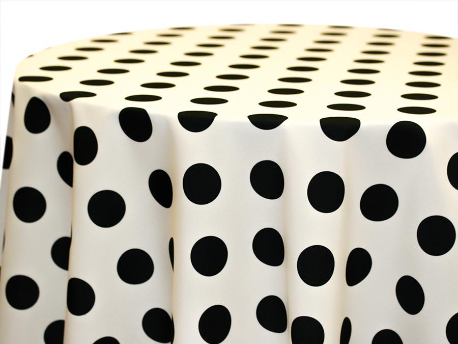 Big Dot – Black on Ivory
