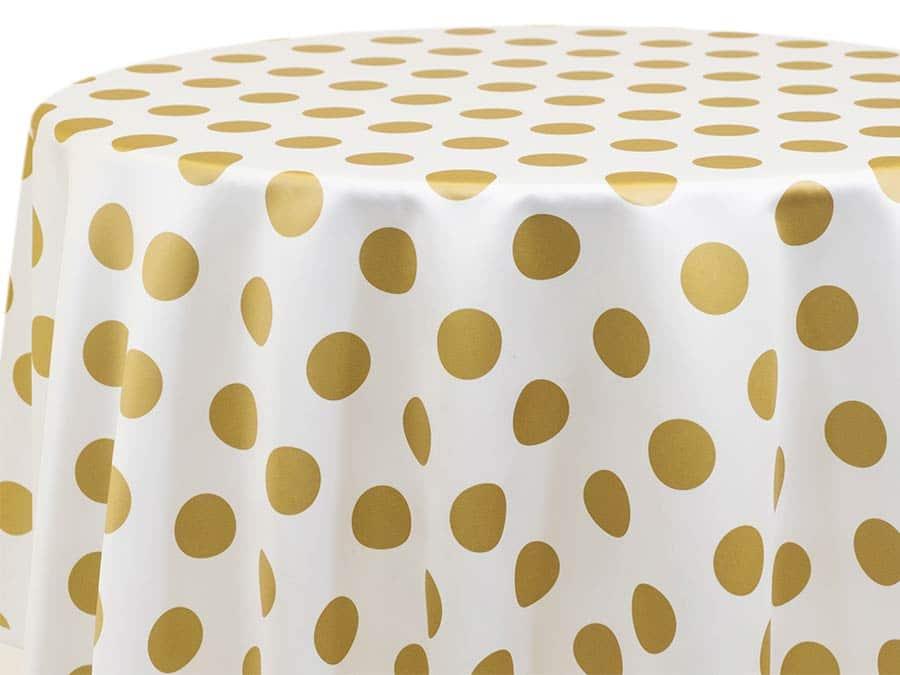 Big Dot – Gold on White