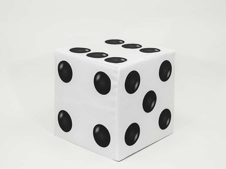 Block Cover – White Dice