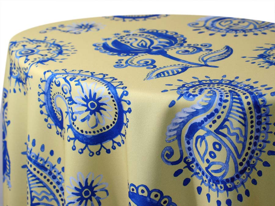 Country French Paisley – Yellow
