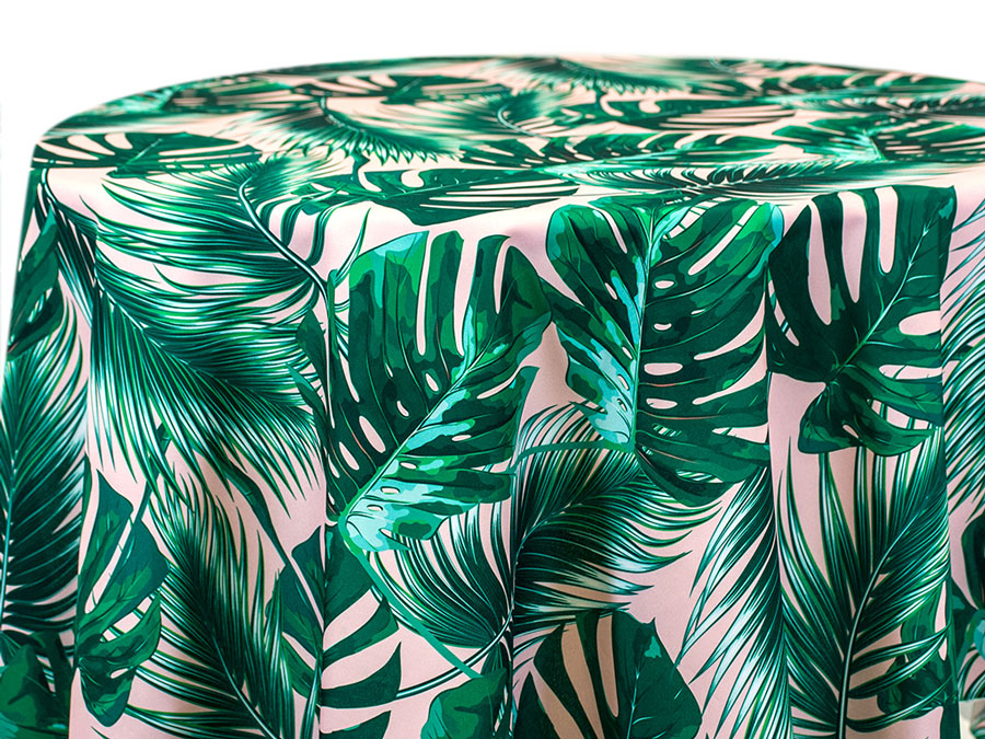Frond – Green on Blush