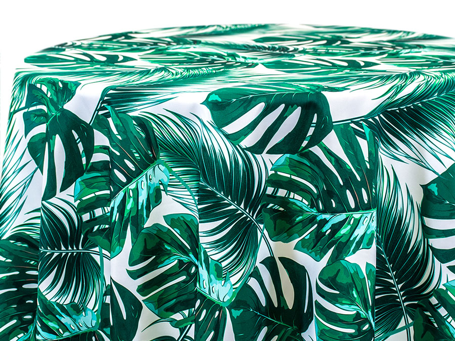 Frond – Green on White