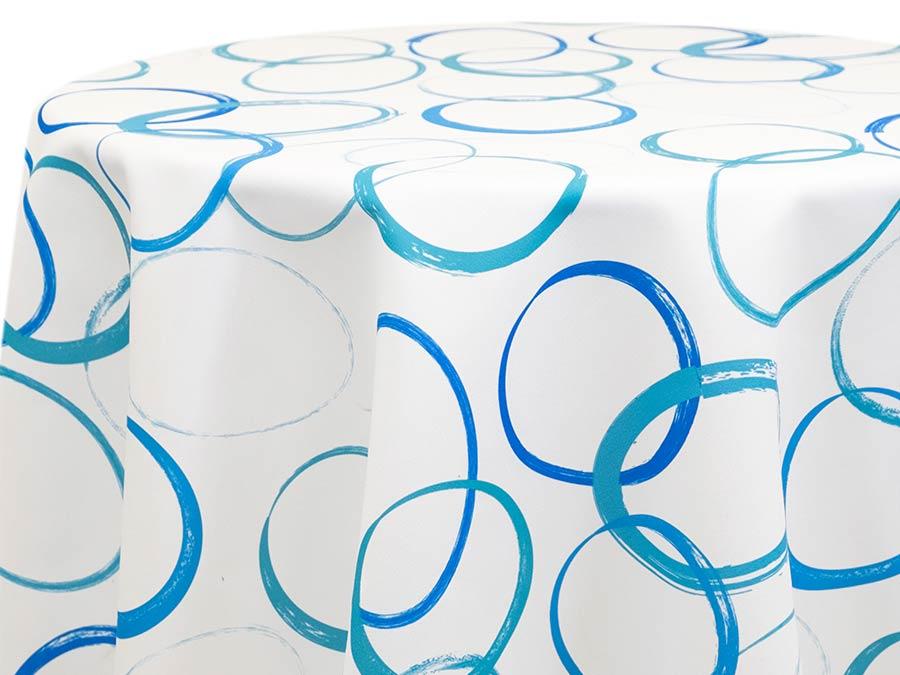 Grunge Circular – Blue