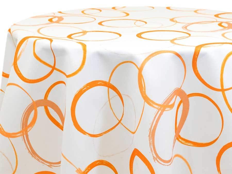 Grunge Circular -Tangerine