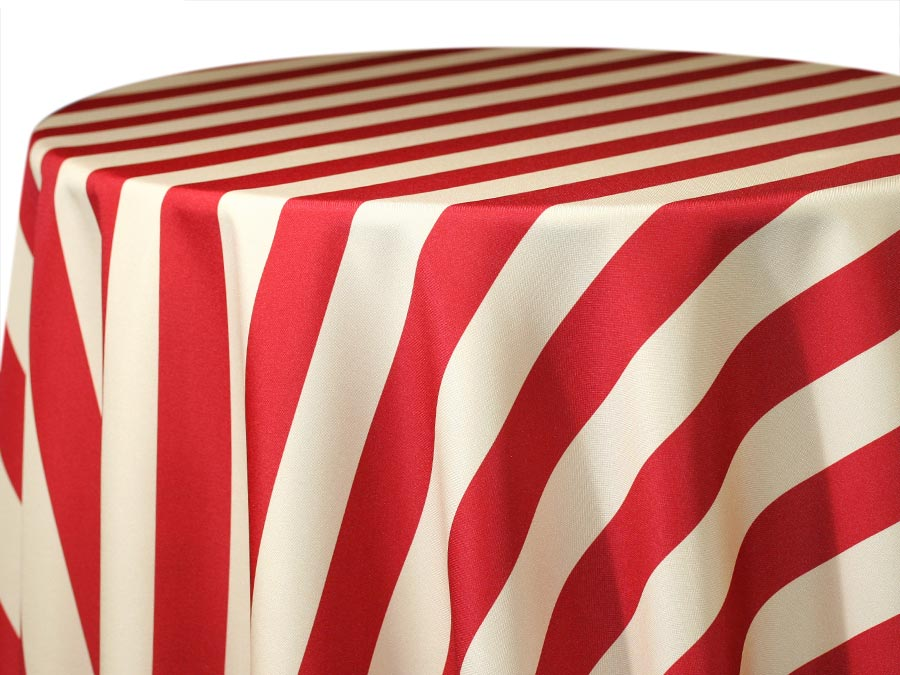 Hudson Stripe – Burgundy Beige