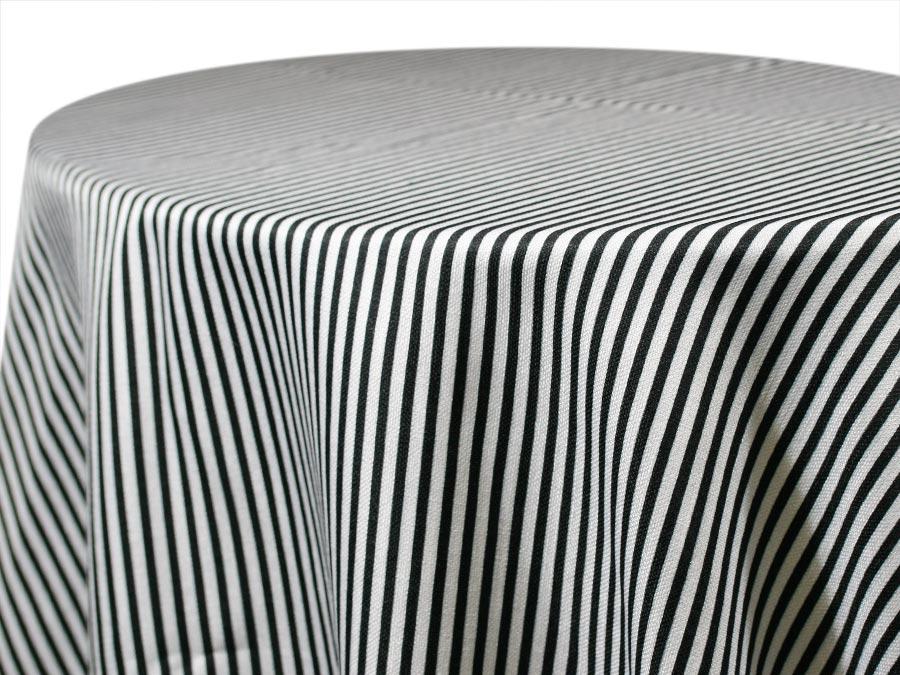 Morgan Stripe – Black