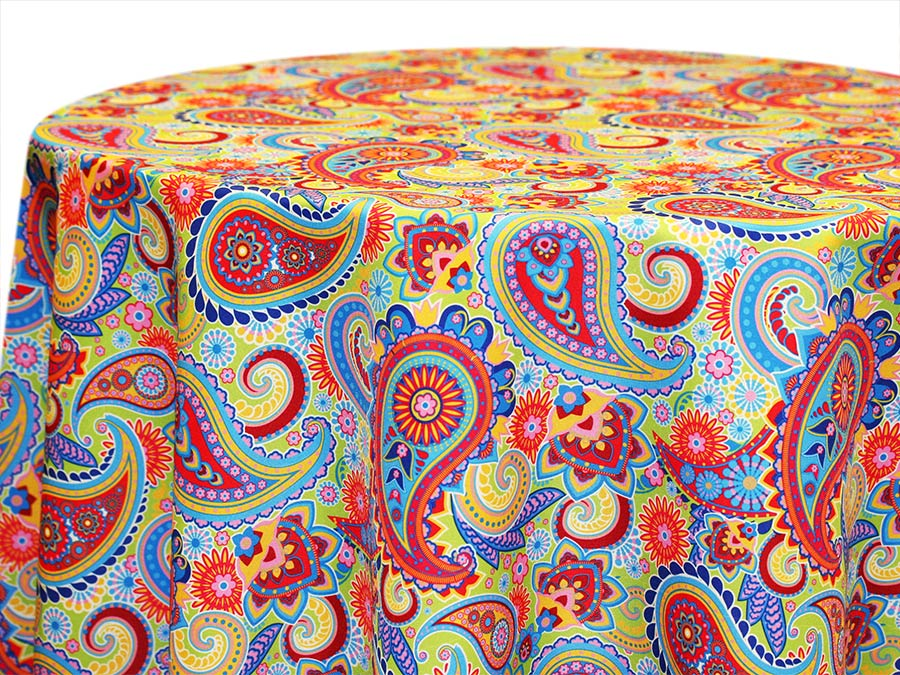 Paisley – Turquoise Lime