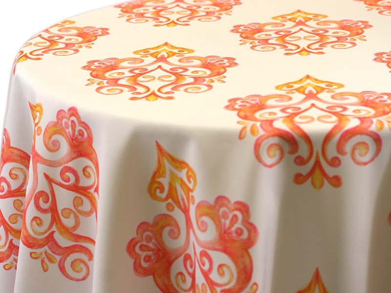 Prato – Orange on White