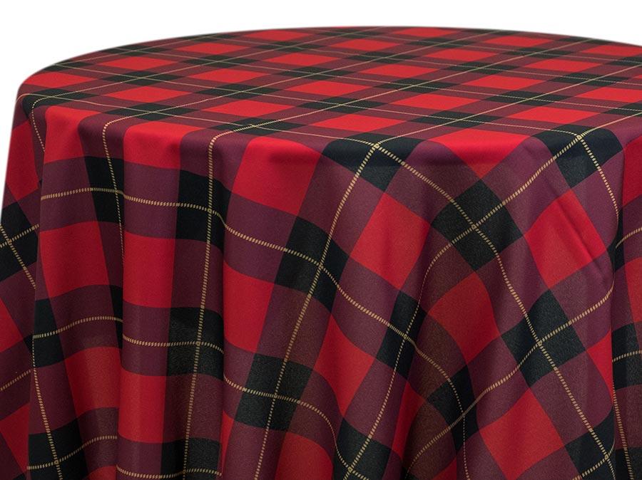 Scottish Plaid – Red
