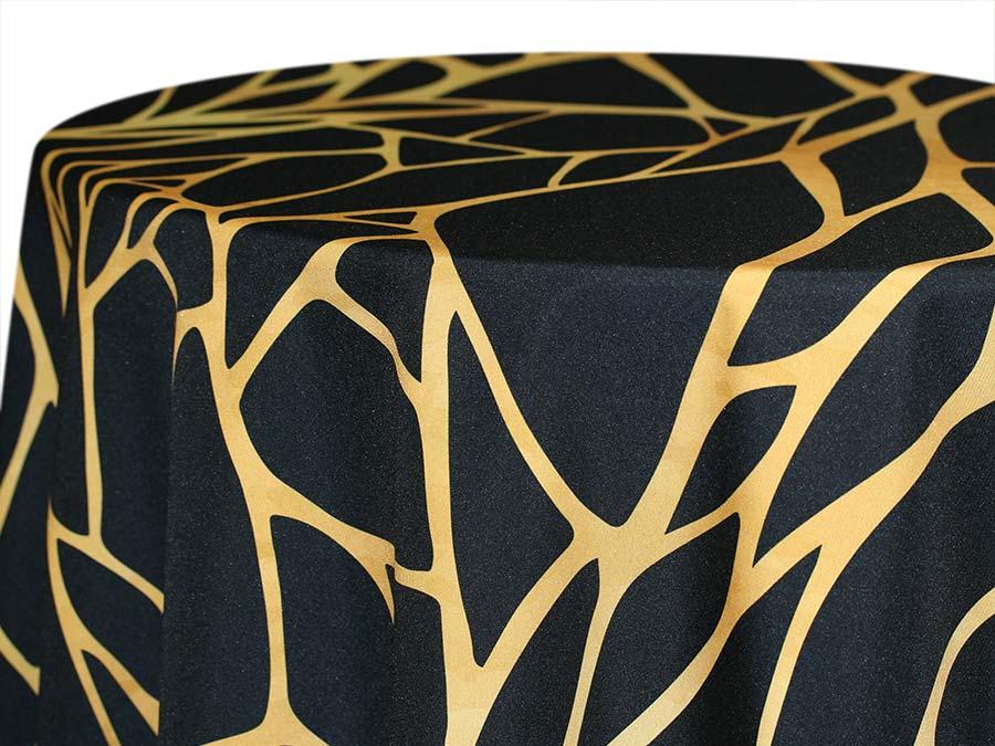 Shattered – Gold on Black