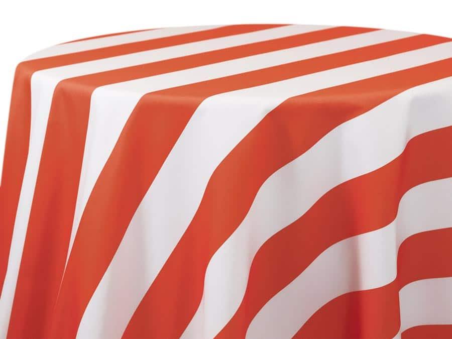3 Inch Stripe – Coral