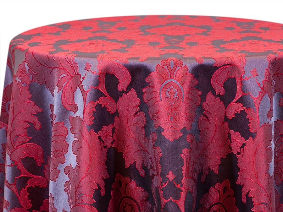 Alex Damask – Red Mulberry