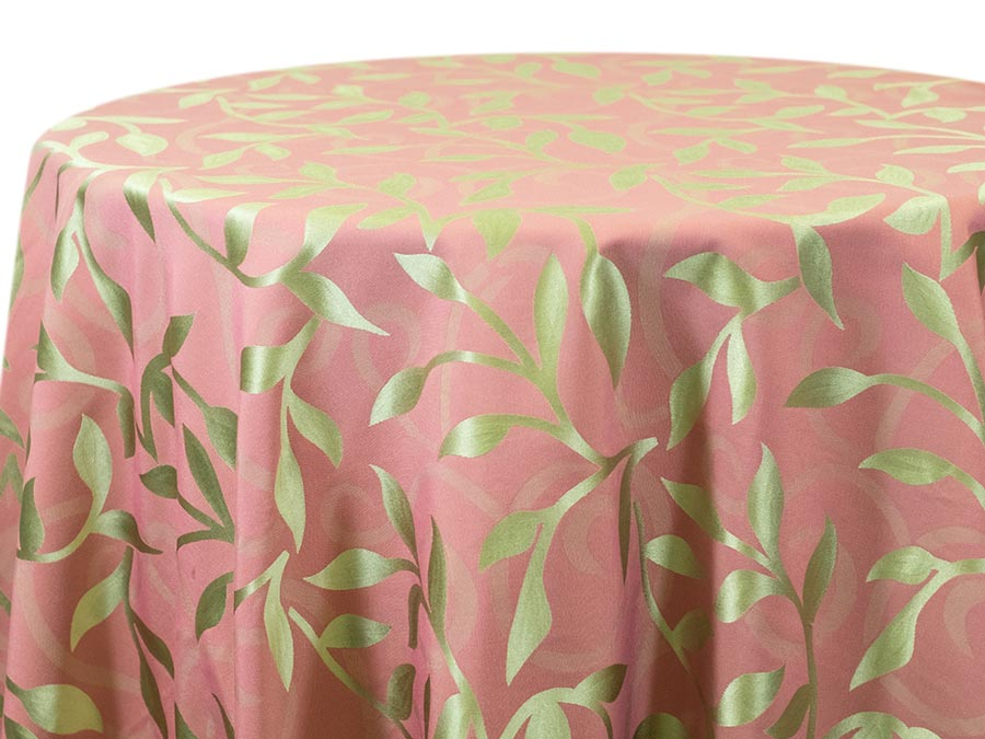 Casablanca Leaf – Lime Light Pink (Reverse)